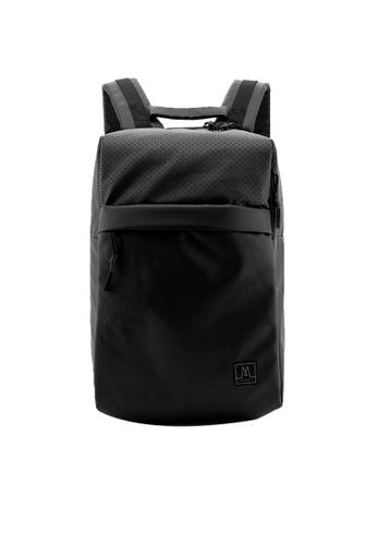 MORAL black Greeves Backpack - Matt Black 507F3ACB5F8F6EGS_1