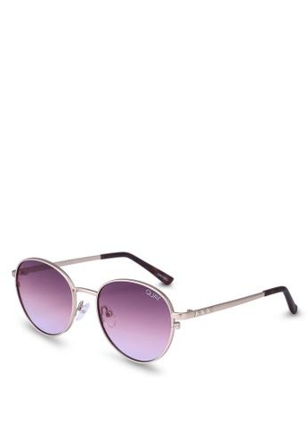 Quay Australia gold Crazy Love Sunglasses E8373GLF10E34BGS_1