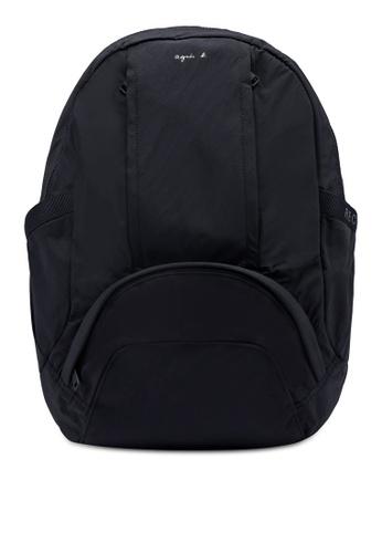agnès b. black Plain Backpack C3FE2ACDCA87CCGS_1