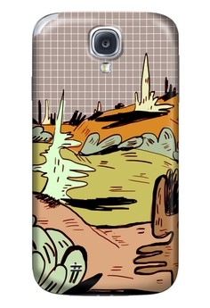 Valley of Confusion Matte Hard Case for Samsung Galaxy S4