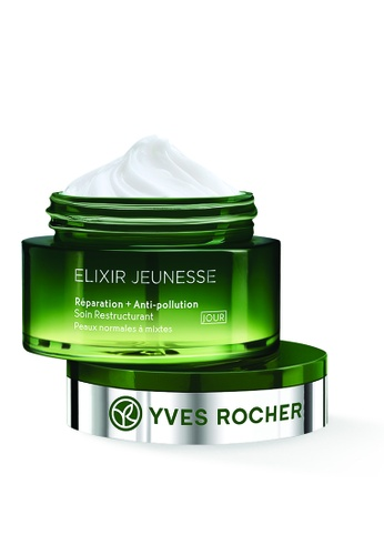 Yves Rocher green Yves Rocher Elixir Jeunesse Restructuring Day Care 50ml 11A03BE22D6BC7GS_1
