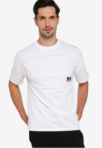 Hummel 白色 沙灘Break T恤 044E9AA65453A9GS_1