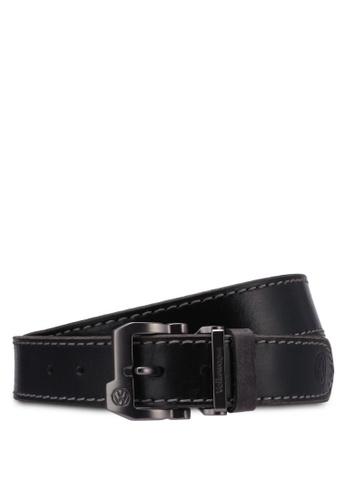 Volkswagen black Volkswagen Belt & Wallet Gift Set VO089AC0RX9EMY_1