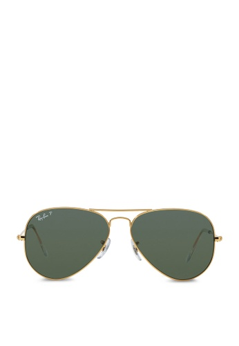 ray-ban Aviator Large Metal RB3025 Polarized Sunglasses RA370GL50RZXSG_1