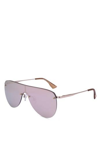 Le Specs gold The King 1702049 Sunglasses EA57AGLC3AC92AGS_1