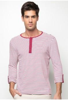 Drab Stripe Long Sleeve Shirt