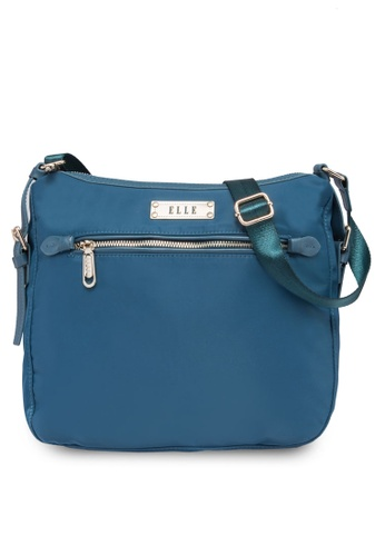 ELLE blue Tini 5 Sling Bag EL900AC89PMOMY_1