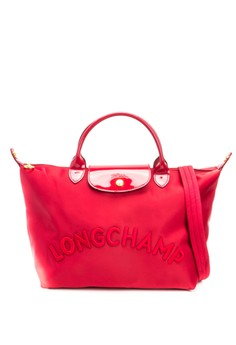 Longchamp Neo Embroidered Tote Bag