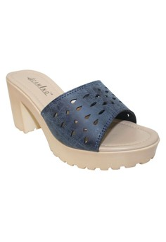 Camino Heels Slides Sandals
