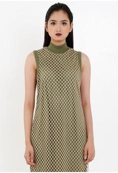 [PRE-ORDER] Mesh Jersey Dress