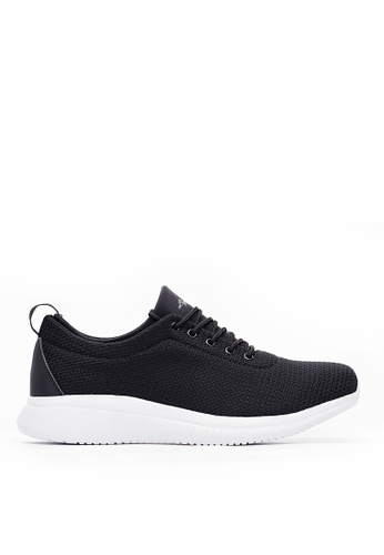 Life8 black Lightweight Sport Spring Shoes-Black-09785 966A8SHF92F5ADGS_1