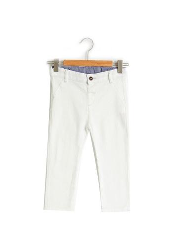 LC Waikiki beige Baby Boy?s Trousers 85377KA7FCD8C1GS_1