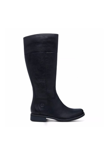 Timberland black Venice Park Tall Boot TI324SH2V7FXHK_1