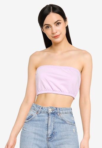 ONLY purple Zia Bandeau Top DC80FAA6AB0A4CGS_1