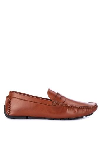 Mendrez brown Gabriel Loafers 5A2F2SHA3C1AB1GS_1
