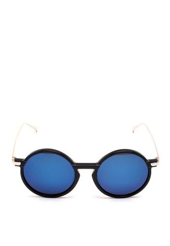 黑框金邊太陽esprit 會員眼鏡, 飾品配件, 女裝飾品