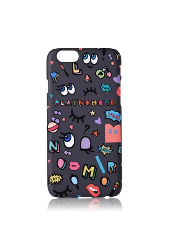 PLAYNOMORE grey PLAYNOMORE PLAY PARTY PHONE CASE 815D1AC8A41F4AGS_1