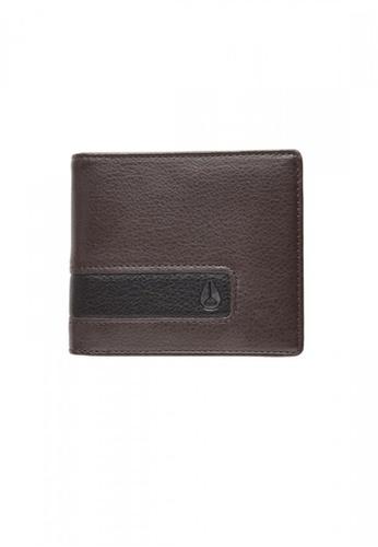Nixon brown Nixon - Showdown Bi-Fold Zip Wallet - Brown (C943400) NI855AC38RWNSG_1