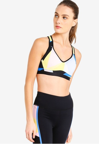245692f9fc Cotton On Body blue and multi High Impact Sports Bra A9B9EUSF3064F3GS 1