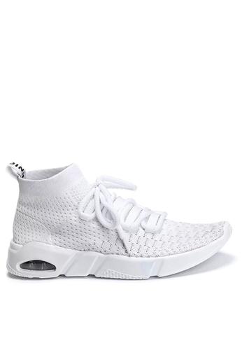 Twenty Eight Shoes 白色 針織襪子運動鞋 VM1806 DD513SH0CD12A4GS_1