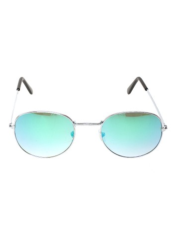 Hamlin green Mackenzie Kacamata Aviator Polarized Lens Sunglasses UV Protection Frame Material Metal ORIGINAL - Green ACD2CGLD53D983GS_1