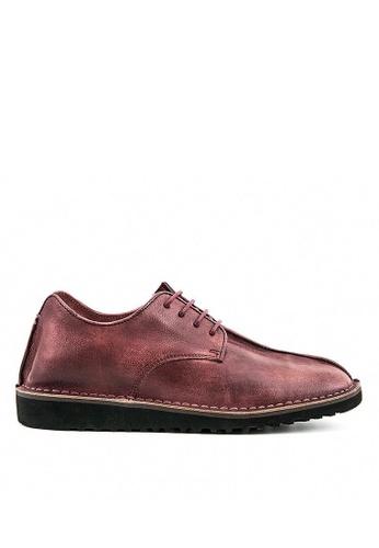 Twenty Eight Shoes Rye復古擦色真皮皮鞋9762 9A0C0SH6651D14GS_1