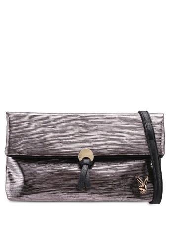 Playboy silver Playboy Clutch/Sling Bag AFB65ACE0EC366GS_1