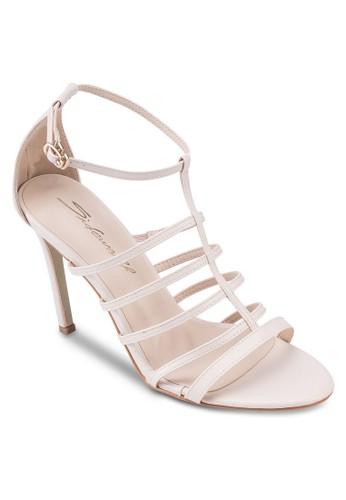 簡約羅馬高跟涼鞋, 女鞋, esprit台灣燦色奪目
