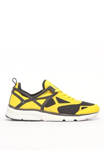 FILA yellow ARCA UNO Running Shoe B0032SH2D8B5EBGS_1