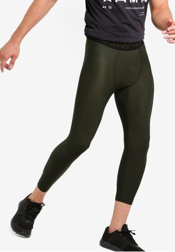 Under Armour green HeatGear® Armour 2.0 3/4 Leggings E433CAA889B135GS_1
