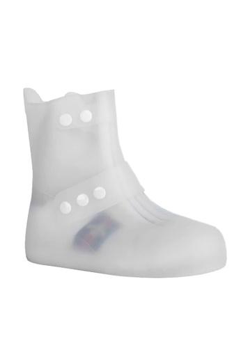 Twenty Eight Shoes white Unisex Waterproof Overshoes VA03 A79BCSH17D0820GS_1