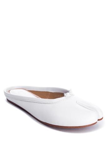 ABOUT A GIRL white Flats Slide E7891SH981D30BGS_1
