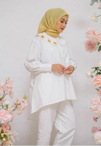 HijabChic white HC x Nada Feverfew White 68702AA02C27B4GS_1