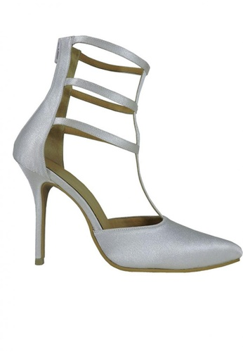 Jacque white Gladiator Heels JA262SH96FZFMY_1