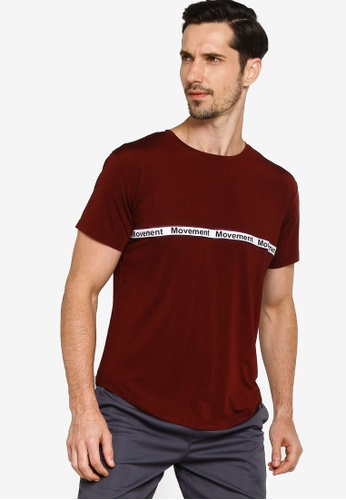 Fidelio red Movement Active Tee A91FEAA410AF6FGS_1