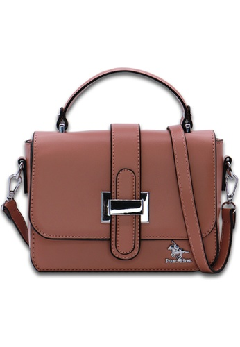 POLO HILL pink POLO HILL Sally Satchel Sling Bag 630E0ACBF7380DGS_1