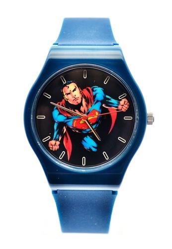 JUSTICE LEAGUE black JL-012 Superman Watch EF4F3ACD7B9B30GS_1