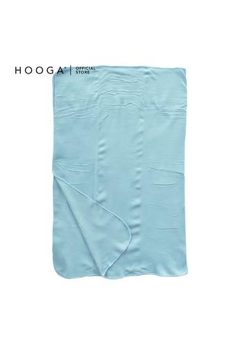 HOOGA blue Hooga Throw Pio Baby Blue 127X152cm (Bundle of 2) EFF66HLEACAD68GS_1