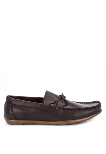 Italianos brown Vincent Loafers 66457SH95F5F09GS_1