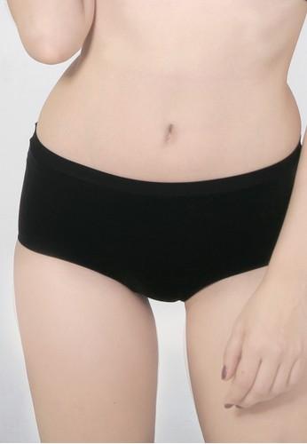 Raquel Lingerie black Keisha  Black High-Waist Panty RA363US41RLQID_1