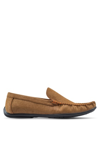 Louis Cuppers brown Casual Moccasins LO977SH63ZKIMY_1