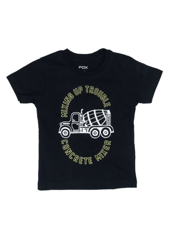 FOX Kids & Baby navy Short Sleeve Graphic Tee 2832AKA512E553GS_1