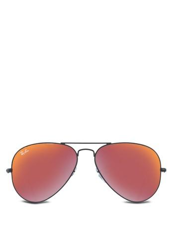 Aviator Large Metal 偏光太陽眼鏡, 飾esprit 面試品配件, 飾品配件