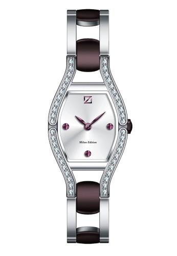 ZECA purple and silver Zeca Jam Tangan Wanita 142L.S.P.PU1 ZE074AC39ZVSID_1