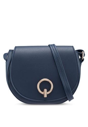 Verchini blue Mini Stylo Sling Bag C45B8ACBDFF232GS_1