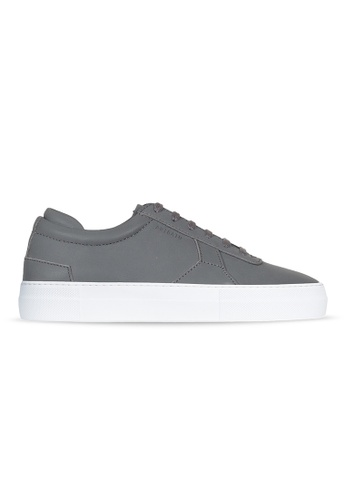 Axel Arigato Platform Sneaker 深灰色皮革 501E7SH980BDE9GS_1