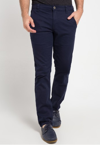 Contempo navy Chinos Long Pants CO339AA0W8DDID_1