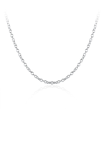 Glamorousky silver Fashion Simple Thin Necklace F3F23AC20B451EGS_1