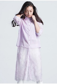 [IMPORTED] Ethereal Elegance Shirt Dress