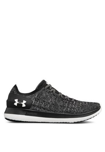 Under Armour black UA Slingride 2 Shoes 21996SH755EAB6GS_1